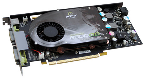 Видеокарта NVIDIA GeForce 8800 GS