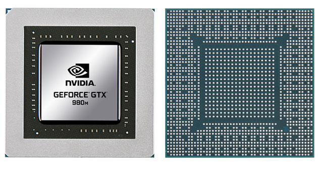 Видеокарта для ноутбука NVIDIA GeForce GTX 980M