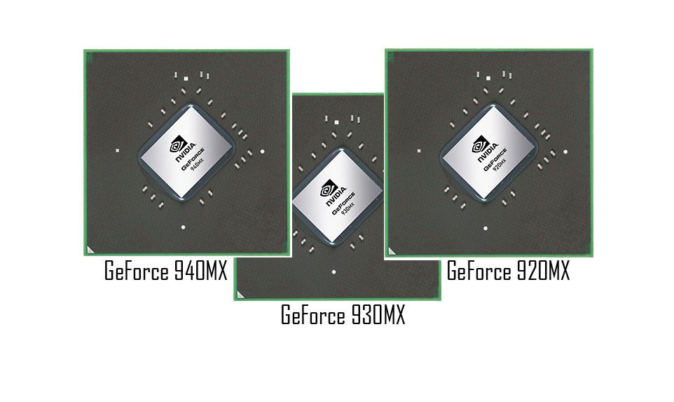 GeForce 940MX, 930MX и 920MX